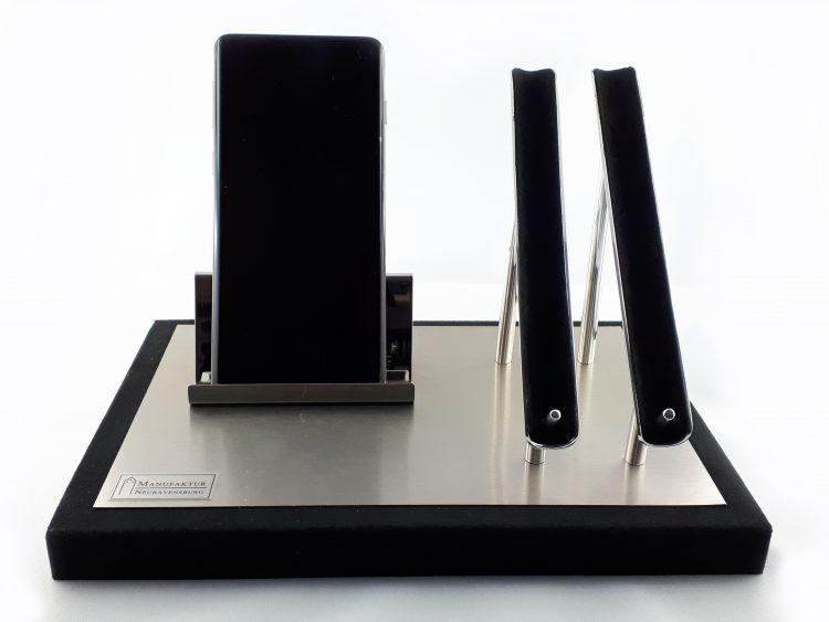 Schreibtisch Smartphone Füllfederhalter
